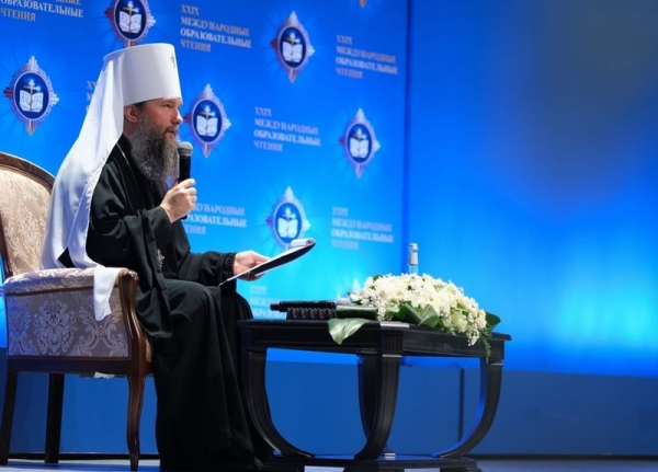 Представители Вологодской духовной семинарии участвовали в торжественном открытии XXIX Международных образовательных чтений