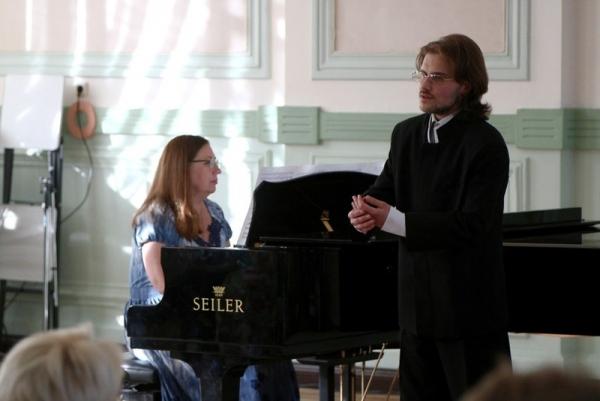 Студенты Вологодской духовной семинарии приняли участие в организации и проведении концерта вокальной музыки