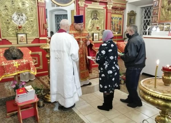 Пасхальная миссионерская акция прошла в Крестовоздвиженском храме города Грязовца