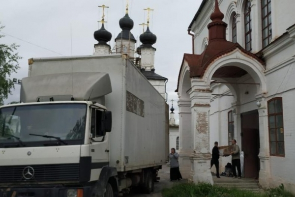 В Великоустюжской епархии прошла акция по оказанию гуманитарной помощи многодетным и малоимущим семьям
