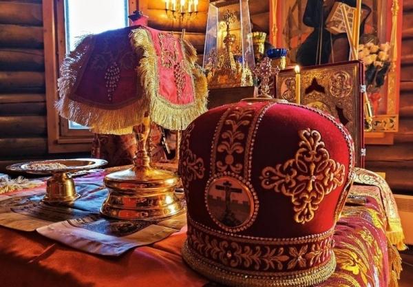 В Новолеушинском Иоанно-Предтеченском монастыре состоялось архиерейское богослужение