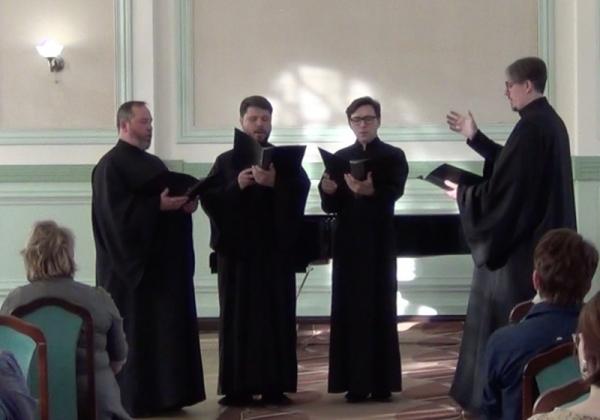 Хор духовенства епархии участвовал в концерте вологодских композиторов