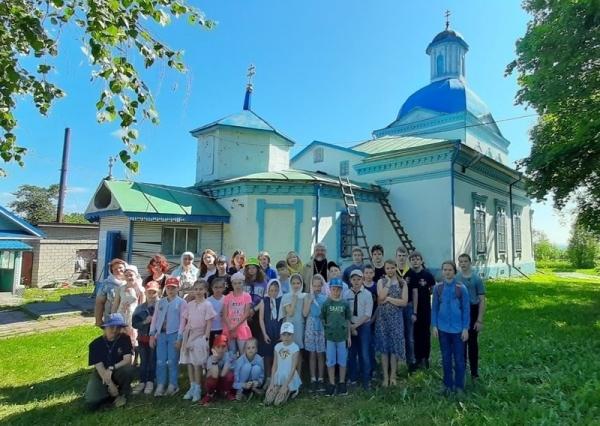 Состоялась паломническая поездка юных разведчиков дружины «Череповец»